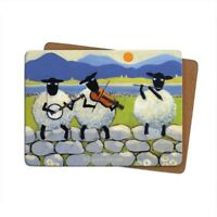 Thomas Joseph -  Single Table Mat/Placemat-'Bl-ewe Grass'