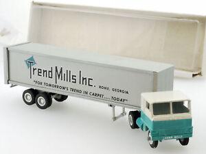 Winross Toys White Semi Truck Trend Mills Inc. Rome Georgia MIB OVP 1410-12-21