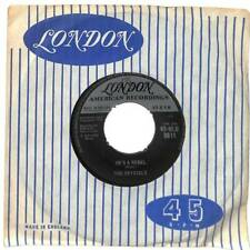 """The Crystals - He's A Rebel  - 7"""" Vinyl Record Single"""