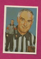 1987 HALL OF FAME REFEREE JOHN G ASHLEY  ELECTED 1981 MINT CARD (INV#6229)