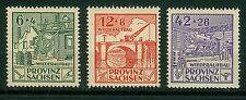 Alliierte Besetzung SBZ Provinz Sachsen 87A - 89A ,** ,