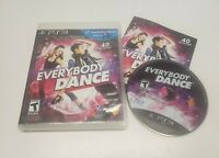 Everybody Dance (Sony PlayStation 3, 2011) Video Game Complete w Manual TESTED