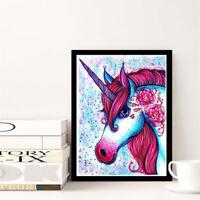 diamond painting colorful unicorn cross stitch full drill diamonds embroidery FF