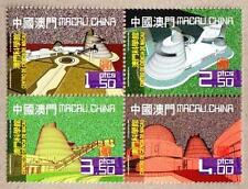 China Macau 2009 Macao Science Center Stamps