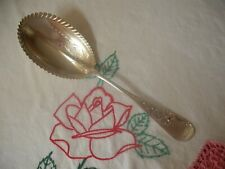 """Whiting Sterling Silver 9 1/16"""" Serving Spoon, 1882 Antique Lily"""