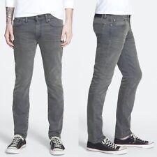 Levi's 511 Slim Fit Mens Grey Jeans 32X32 Mid Rise