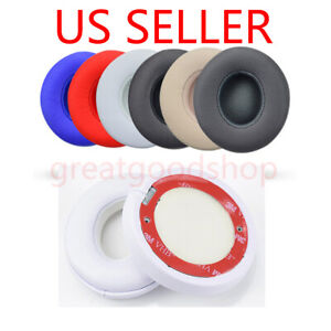 2x Ear Pad Cushion Replacement For Beats Dr. Dre Solo 2 Solo 3 Wireless