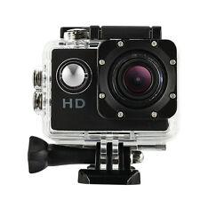 "720P Waterproof 1.5"" HD Outdoor Sports Action Camera Helmet Bike Cam DVR Black"