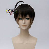Masumi Usui Anime Party 30CM Black Ombre Brown 30cm Hair Cosplay Wig + Cap