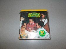 2001 Binney & Smith Crayola 64 count box and savings bank collectible retro tin