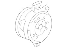 OEM GM 19130471 Radiator Cooling Fan Motor