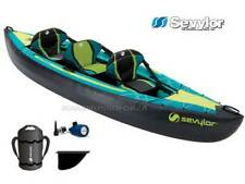 CANOA GONFIABILE KAYAK SEVYLOR OTTAWA 2+1 POSTI INFLATABLE KAYAK 3 OR 2-PERSON