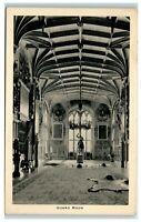 Tucks Picture Postcard Windsor Castle Guard Room