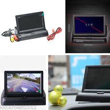 """Sistema Marcha Atrás De Aparcamiento Plegable 4.3"""" Digital LCD monitor en color pantalla NTSC/PAL"""