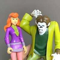 "Utarl Rare 5"" Scooby-Doo 50th Anniversary Exclusive Daphne & Wolfman Figure #K"