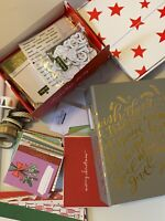 LOT Scrapbook Destash Ali Edwards December Daily Christmas Embellishments Album