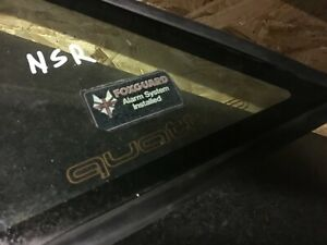 AUDI 80 90 B3 SALOON QUATTRO REAR LEFT QUARTER TRIANGLE WINDOW GLASS