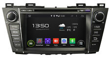 radio de voiture NAVICEIVER Android 5.1 QuadCore WIFI BT Navi MAZDA 5 dès 11