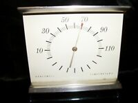 Vintage Honeywell Desk Thermometer Mid Century Working Condition