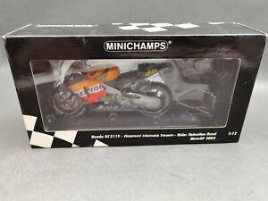 "1:12..Minichamps--Honda Repsol RC 211V MotoGP 2002 ""Valentino Rossi"" / 5 O 976"