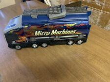 Micro Machines Super Stunt City Tanker Truck Playset Hasbro 2001 Shell