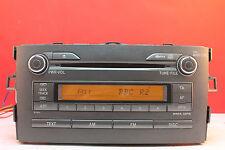 TOYOTA AURIS CD RADIO STEREO AUTO LETTORE decodificato 2007 2008 2009 W13805 ORIGINALE