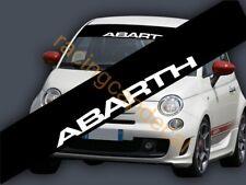 ABARTH Fiat SunStrip Visor Windshield Decal Sticker 500 Stilo Bravo Grande Punto