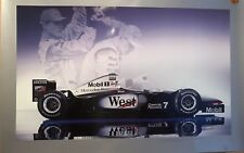 Mclaren Mercedes MP4-13 1998( Factory Issued) Out of Print Car Poster!!