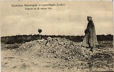 CPA  Lauterfingen - Deutsches Massengrab - 1914  (388022)