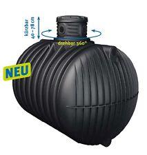 4Rain Zisterne 4000 l Compact ,Regenwassertank, Erdtank, Wasserspeicher, 4.000