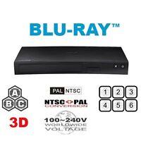 Samsung BD-J5900 Multi Region Free Blu-Ray DVD Player - 3D support, WiFi