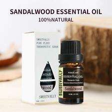 Essential Oil Aromatherapy Organic Natural Sandalwood Therapeutic Grade Oil 10ml