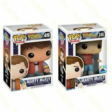 Funko POP BACK TO THE FUTURE 2 Marty Mcfly Dr. Emmett Brown Figure Collectible