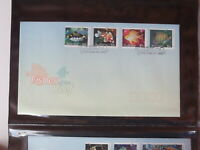 FISHES OF THE REEF 2010 AUSTRALIAN FIRST DAY COVER SET OF4 60C STAMPS