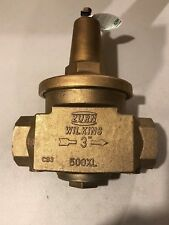 "Zurn Wilkins Low Lead Bronze Water Pressure Reducing Valve 3""-Inch 3-500XL"