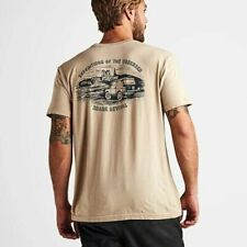 NEW ROARK REVIVAL EXPEDITIONS OF THE OBSESSED BEIGE T-SHIRT SZ XL