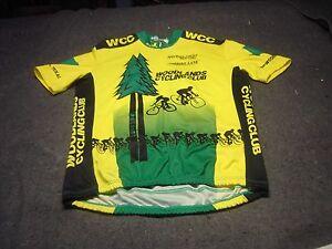 WOODLANDS Bicycle Center  BIKE LANE Cycling Jersey Size 2XL