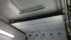 Werkstattheizung Hallenheizung Infrarotheizung 1500W für geringe Raumhöhe 2,2-3m