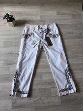 Ermanno Scervino Ladies Trousers UK6 IT38 US0 Embellished Three Quarter Length