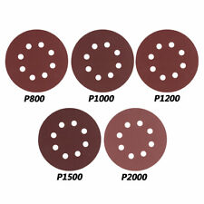 30 Sanding Disc Sandpaper Hook Loop 800-2000 Stick Pad for Orbital Sander 5Inch