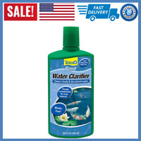 TetraPond Water Clarifier Treatment, Clears Cloudy/Discolored Water 16.9 Oz New
