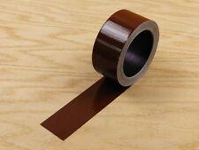 """2"""" Brown Colored Duct Tape Colors Waterproof UV Tear Resistant 20 yd 60'"""