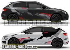 Seat Leon FR Cupra Rally 010 motorsport racing graphics stickers decals vinyl