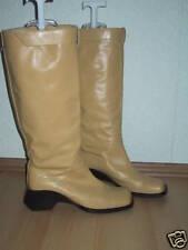 Damenschuh Stiefel Gr. 41 von Fabio Zago vitello beiges Nappaleder