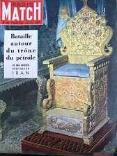 PARIS MATCH N° 0120 IRAN REIMS G.P. EUROPE FARINA FANGIO SAINT-EXUPERY (2) 1951