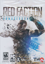 RED FACTION ARMAGEDDON Armagedon Shooter PC Game - US Version - BRAND NEW!