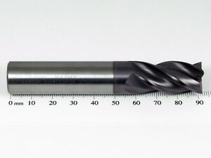16mm M.A. FORD TuffCut 177 XR 4 Flute Solid Carbide Coated End Mill 177 1600A