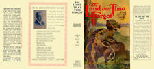 Edgar Rice Burroughs THE LAND THAT TIME FORGOT facsimile jacket - 1st Grosset ed