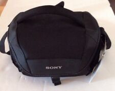 NEW Sony LCS-U21 Soft Carrying Case #LCSU21. Camera. Black