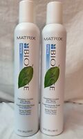 2 CANS Matrix Biolage Styling COMPLETE CONTROL HAIR SPRAY 10 Oz Hairspray ORIG